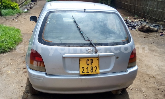Buy Used Toyota Starlet Silver Car in Kasungu in Malawi