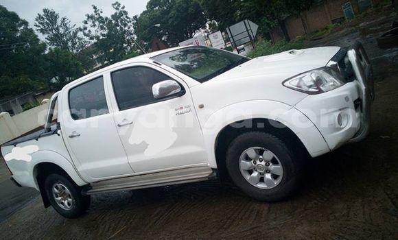 Buy Used Toyota Hilux White Car in Zomba in Malawi