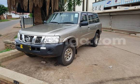 Buy Used Nissan Patrol Beige Car in Lilongwe in Malawi