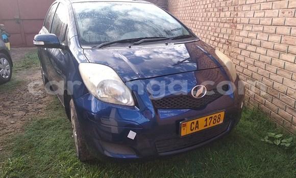Buy Used Toyota Vitz Blue Car in Lilongwe in Malawi
