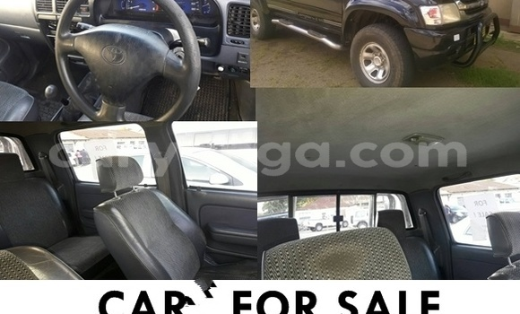 Buy Used Toyota Hilux Black Car in Blantyre in Malawi