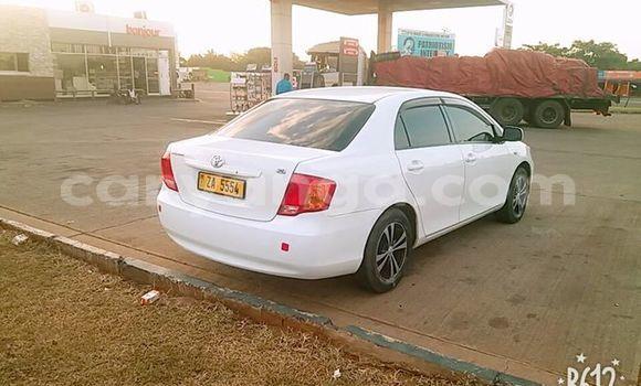 Buy Used Toyota Axio White Car in Lilongwe in Malawi