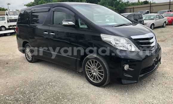 Buy Used Toyota Alphard Black Car in Blantyre in Malawi