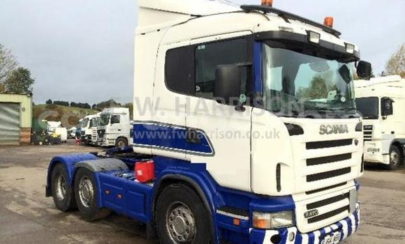 Buy Used Scania 380 White Truck in Blantyre in Malawi