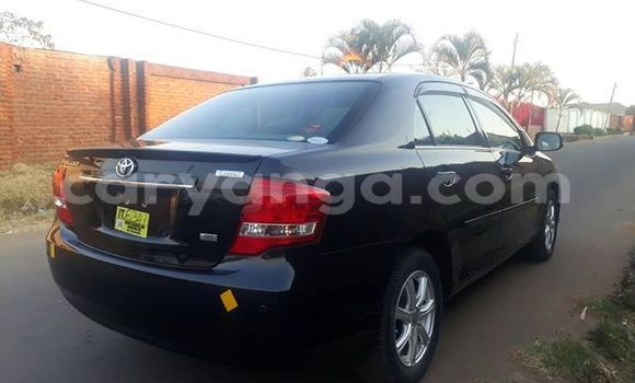 Buy Used Toyota Axio Black Car in Lilongwe in Malawi