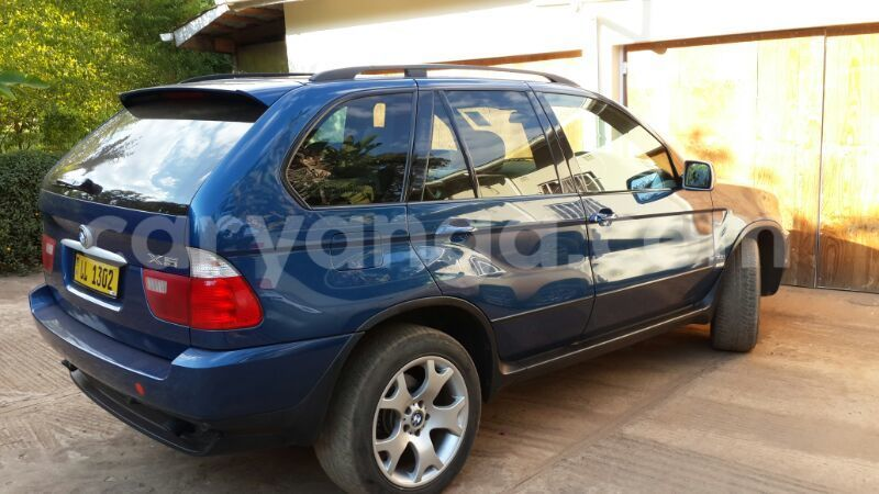 Buy Used Bmw X5 Blue Car In Lilongwe In Malawi Caryanga