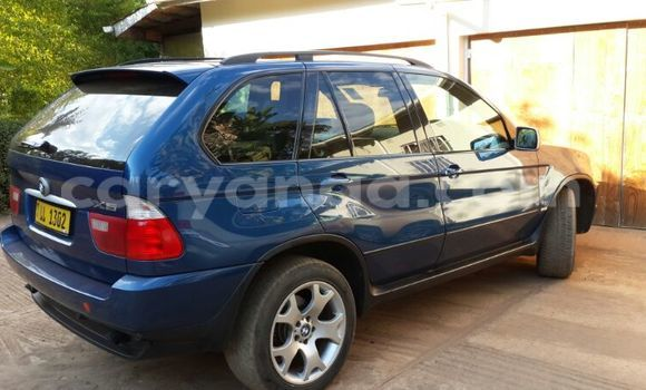 Buy Used BMW X5 Blue Car in Lilongwe in Malawi
