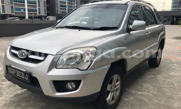 Buy Used Kia Sportage Silver Car in Blantyre in Malawi