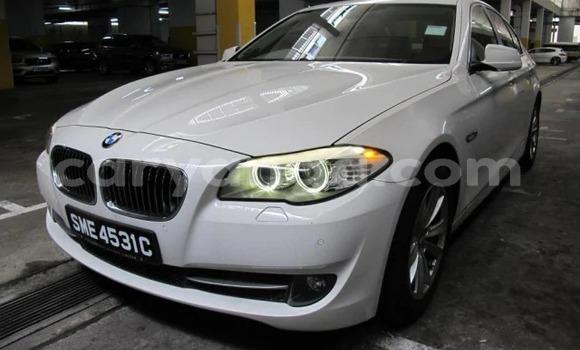Buy Used BMW 5–Series White Car in Lilongwe in Malawi