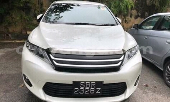 Buy Imported Toyota Harrier White Car in Lilongwe in Malawi