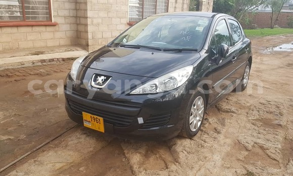 Buy Used Peugeot 207 Black Car in Blantyre in Malawi