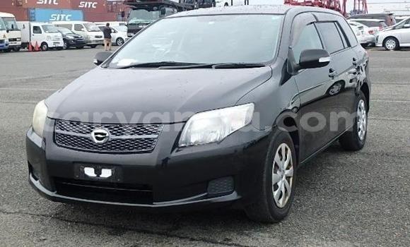 Buy Used Toyota Fielder Black Car in Lilongwe in Malawi